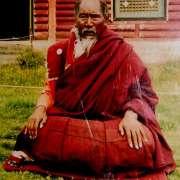 Khenpo Munsel in meditation